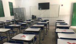 Rede estadual de ensino do Piauí tem 1º dia de aulas presenciais com baixa presença de alunos nas escolas